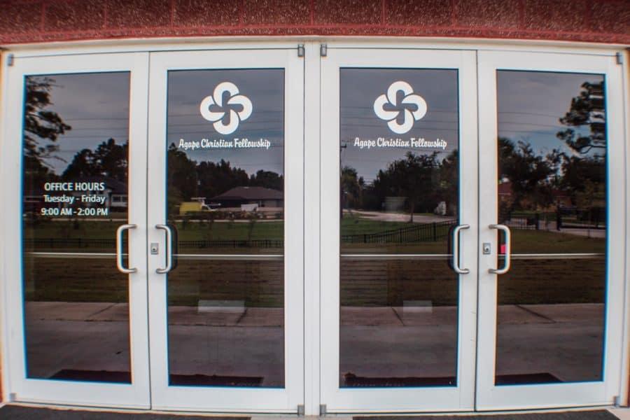 Front Doors of Church