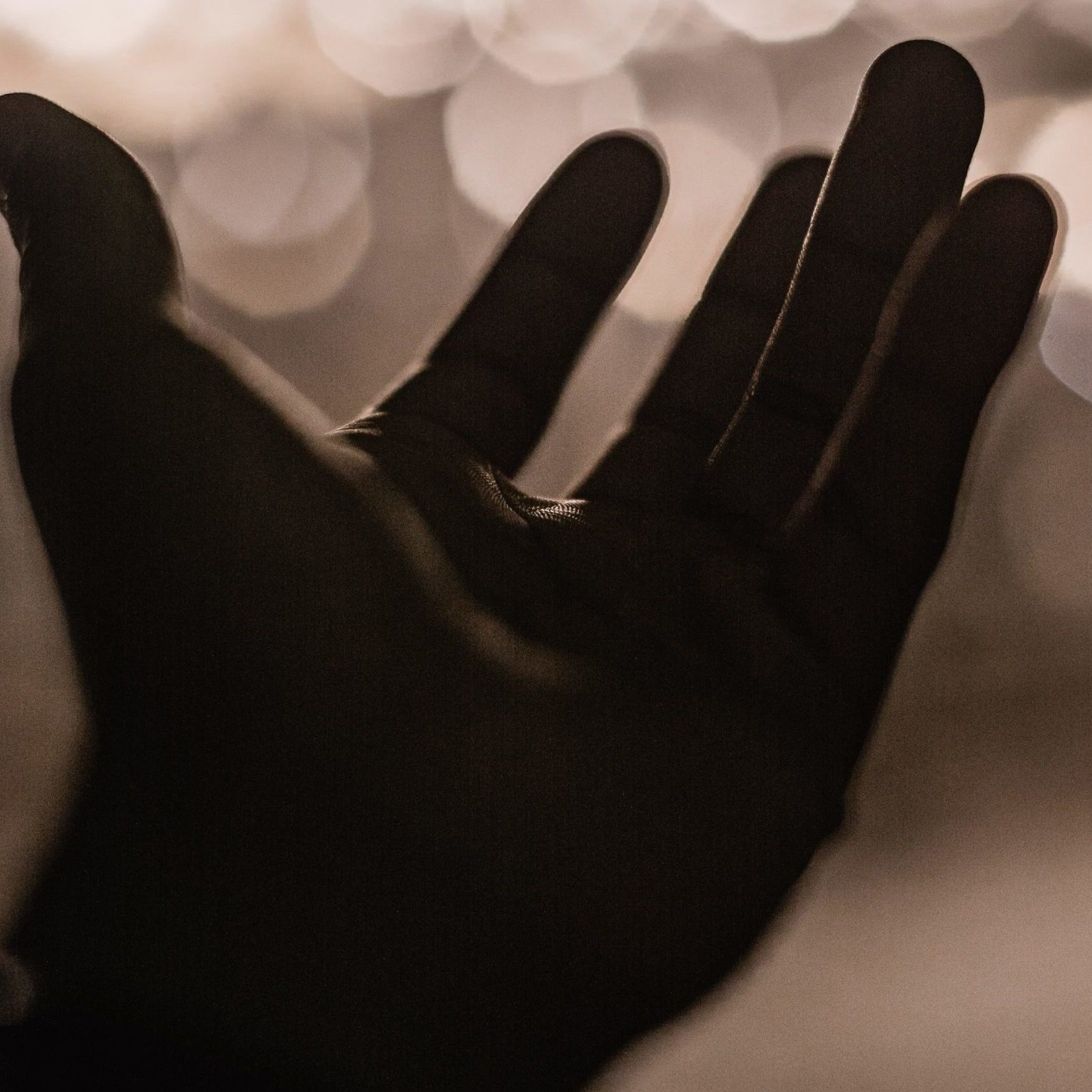 Open Hand and Light